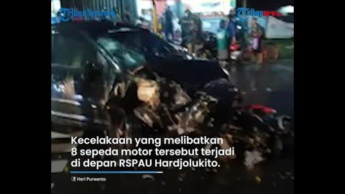 Polisi Tetap Usut Kasus Laka Bocah 13 Tahun Kemudikan Mobil yang Tabrak 8 Motor dan 1 Tewas